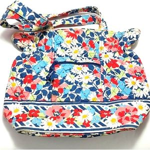 Vera Bradley Purse red blue floral